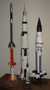 Scale model rockets