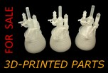 3D-Printed Model Parts FOR SALE