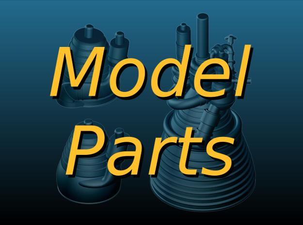3D-Printed Model Parts